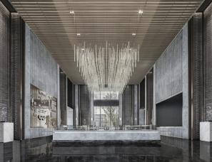 易和室内设计--华润武汉梧桐湖售楼处