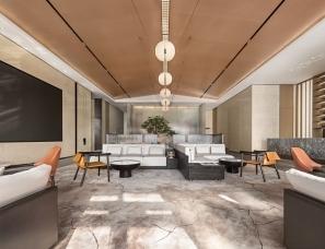 意巢设计--广州金地半山风华销售中心
