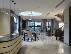 深圳于强室内设计师事务所--东莞鼎峰源著别墅样板房