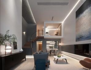 大墨空间设计--国际豪庭私宅300m²