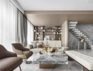 赛拉维设计--天津金地·艺墅家酩悦上下叠样板间