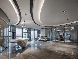 31设计--招商·合肥云峯中心办公展示空间