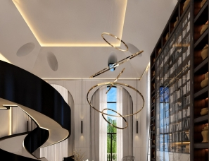 孟也设计--远洋LAVIE2300m²别墅设计方案