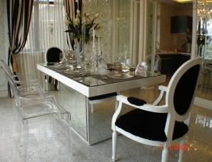 武汉谭伟设计作品 新古典风格别墅 低调黑白风尚