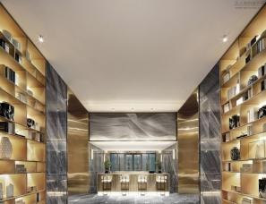 柏舍设计--华堂九里销售中心