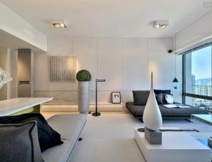郑炳坤设计--香港大埔云汇·海景高层公寓780呎