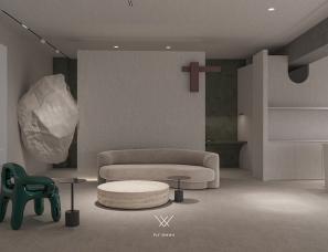 菲拉设计 |「MONTO微水泥体验馆」至上主义