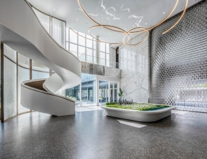 HWCD设计--绿城杭州钱江世纪城项目生活馆