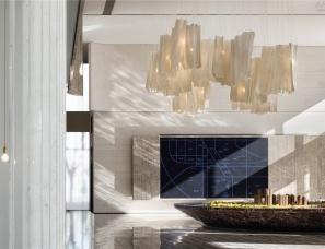 于强室内设计--天津融创梅江壹号院销售中心