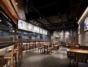 深圳南山区餐厅空间设计:千载人文长安,最是人间风味