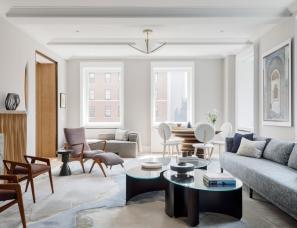 Michael K. Chen 建筑事务所--370㎡ 四居室公寓翻新