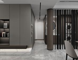 现代平层设计,情景厨房+主卧套间,打造90后婚房范本!
