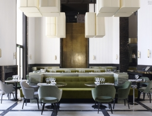 Joseph Dirand architecture设计-- Monsieur Bleu Paris