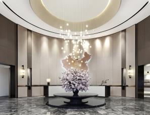 上海戴勒建筑设计--江苏盐城宝龙售楼处