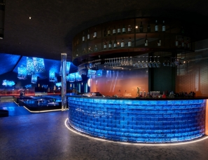 力设计新作   杭州首家下沉星空餐厅 径在咫尺