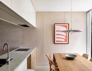 Rob Kennon Architects--138㎡住宅翻新,巧妙的分区让空间更连续