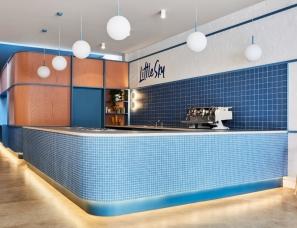 Ewert Leaf--马赛克Little Sky冰淇淋店设计,清新简约迷人!