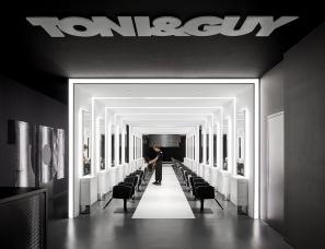 八荒设计--杭州TONI&GUY来福士广场店