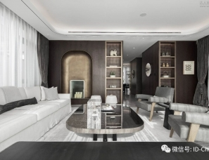 W.DESIGN无间设计--中建国望府邸大宅