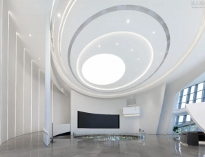 集艾设计--金茂智慧科学城展示中心