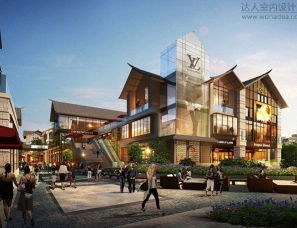 梵华里新中式商业街区设计:融东方之美、享繁华之韵