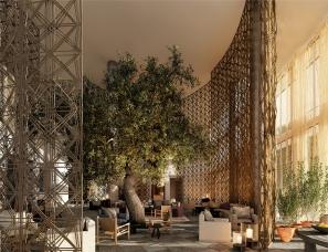 雅布Yabu Pushelberg设计--安缦旗下全新品牌Janu酒店