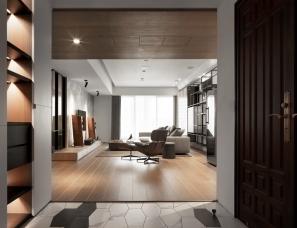 子境空间设计--简约原木住宅