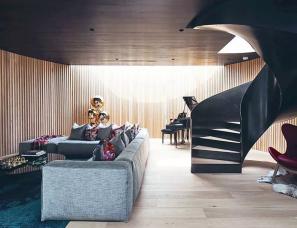 Kavellaris Urban Design--将画廊搬进550㎡豪宅