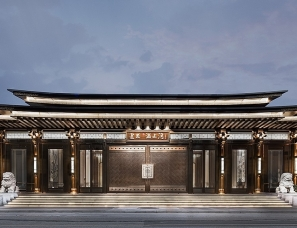漫思设计--上海建发·浦上湾售楼处