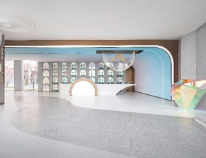 MOD墨设设计--大华国展公园世家售楼处