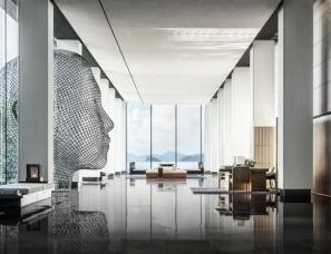 CCD郑中设计 | 深圳大梅沙京基洲际行政俱乐部  只有62间客房