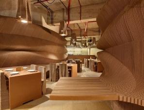 nuru karim--孟买NUDES纸板咖啡馆