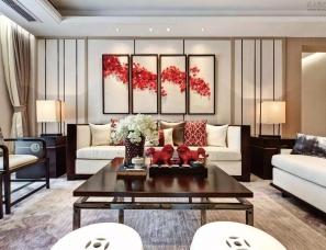 广州柏舍设计--平潭正荣润海样板房9#楼