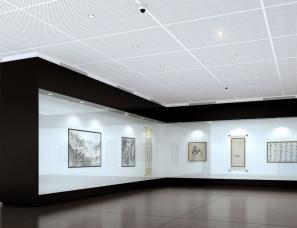 美术馆设计案例效果图