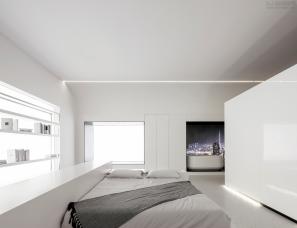 大墨空间设计--温州海尔智家001展厅样板房