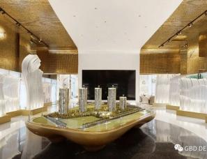 GBD设计--中海左岸澜庭售楼部