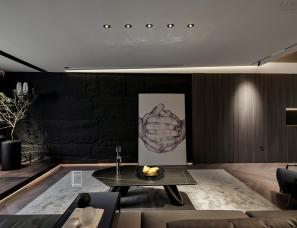 象上设计新作 墨·隐 妙改酷帅144平米私宅