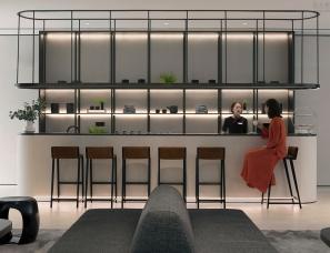 无间设计+PROL光石照明设计--杭州保利澄品销售中心