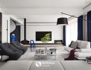 北岩设计--之界|安静、艺术的空中别墅,打造最优美的家