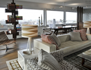 Kate Hume设计--阿姆斯特丹顶楼公寓