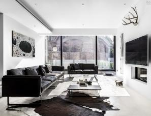玮奕国际设计--南京澈之居 独栋别墅