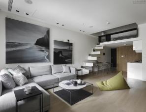 Peny Hsieh x 源原设计--小户型大空间,台湾机能小宅