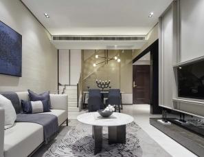 Studio HBA赫室设计--阳光城·丽景公馆复式样板房