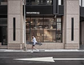 伴境空间--台北·The Platypus滑板主题概念咖啡店100㎡