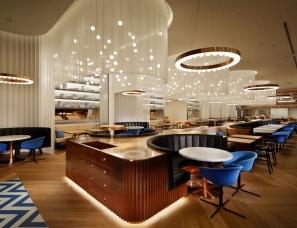 concrete设计--大阪W酒店Oh.lala…餐厅