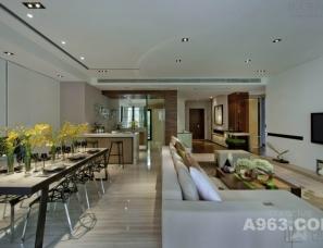 深圳创域设计--成都万科五龙山146底跃别墅样板房