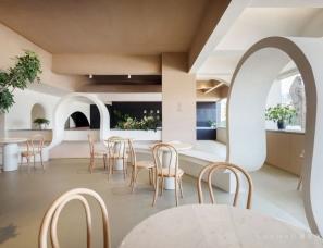 懒猫创意空间设计--深圳禾山有素餐厅