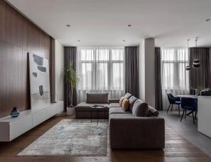 Nik Gusev设计--106㎡ 卧室这样的规划,瞬间多出两间房
