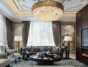 SCD(香港)郑树芬设计--417m² 优雅的东方礼居