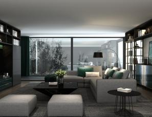 现代简约极简全屋家具